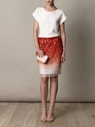 Missoni Degrade sequin skirt