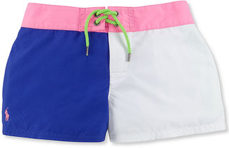 Ralph Lauren Polo Girls' Swim Shorts