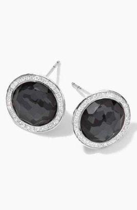 Ippolita 'Stella' Diamond & Stone Stud Earrings