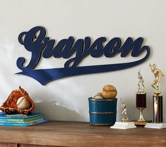 Pottery Barn Kids Varsity Font Name, Navy