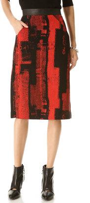Zero Maria Cornejo Frente Skirt