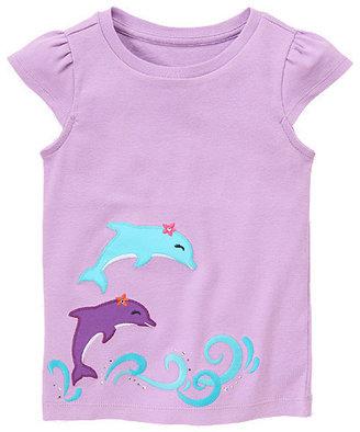 Gymboree Gem Dolphin Tee