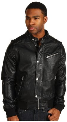 Members Only Live 2 Ride PU Jacket (Black) - Apparel