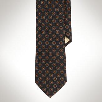 Polo Ralph Lauren Narrow Neats Wool Challis Tie