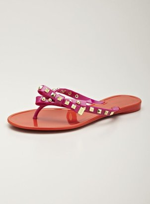 Ivanka Trump Natty Studded Thong Sandal