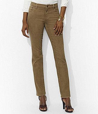 Lauren Ralph Lauren Slimming Modern Straight Pants