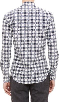 Thom Browne Checkered Shirt