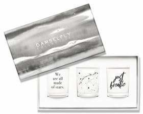 Damselfly 3-Piece Just Breathe Candle Gift Pack