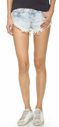 One Teaspoon Classic Bonita Shorts $99 thestylecure.com