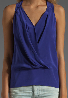 Tracy Reese Soft Solids Surplice Halter