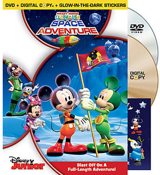 Disney Mickey Mouse Clubhouse: Space Adventure - 2-Disc Set