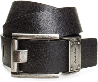 Calvin Klein Jeans Belts, Vintage Leather 4-Way Reversible Casual Belt