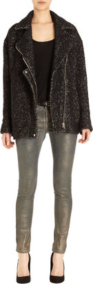IRO Oversized Tweed Coat