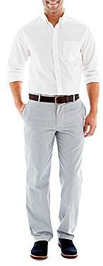 Dockers Button-Front Shirt with Classic-Fit Field Khaki Pants