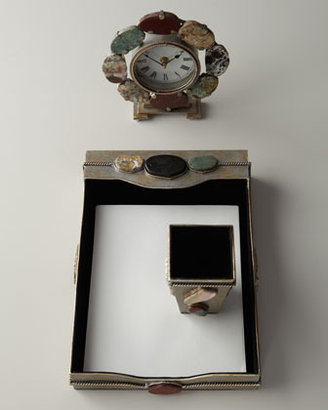 Janice Minor Stones Desk Clock