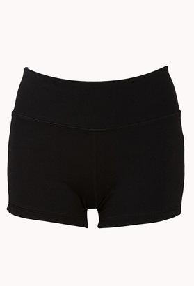 Forever 21 Mesh Paneled Workout Shorts