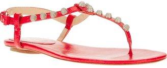 Ioannis studded t-bar sandal