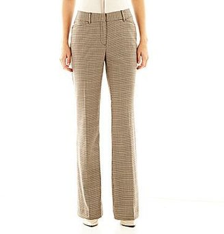 JCPenney Worthington® Modern-Fit Tourser-Leg Pants
