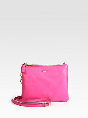 Saks Fifth Avenue Furla Exclusively for Regina Small Shoulder Bag