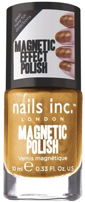 Nails Inc A Unique Metallic Gold Magnetic Special Effects Polish