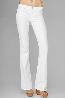"7 For All Mankind ""A"" Pocket Flare In Clean White"