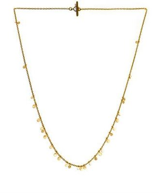 SIA Taylor Yellow gold necklace random dots