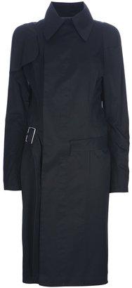 Yohji Yamamoto belt trench coat