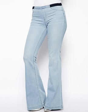 Blank NYC Flared Jeans - Light blue