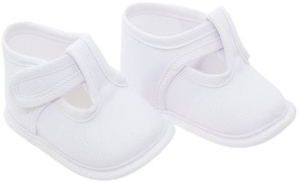 Cambrass Baby Summer Plain Corded T Bar Soft Shoes (6 - 9 Months