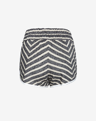 Derek Lam 10 Crosby Striped Sweat Short