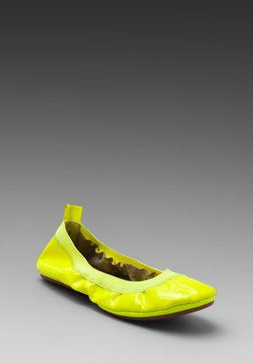 Yosi Samra Patent Leather Flat