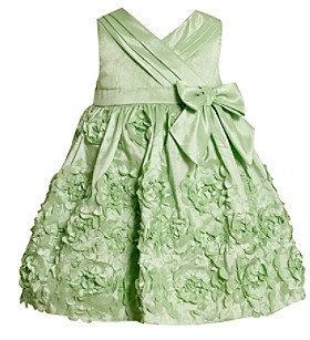 Bonnie Jean Baby Girls' Mint Green Floral Dress