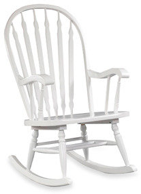 Hudson Carolina Chair & Table Rocker - White