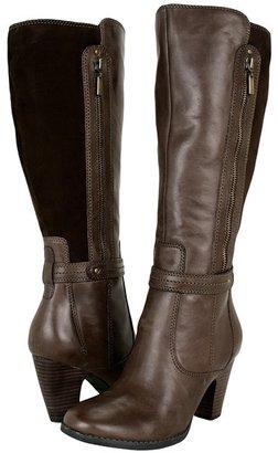Clarks Alpine Bonnet (Dark Brown Leather) - Footwear