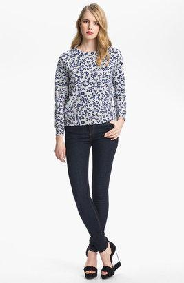 A.P.C. Leopard Print Sweatshirt