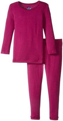 Kickee Pants Long Sleeve Pajama Set - Twilight-2T