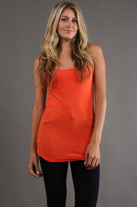 Tysa Tank Top in Orange