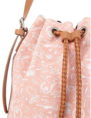 Veja Pink Canvas Pauline Bucket Bag