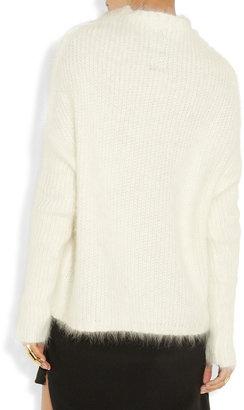 Rick Owens Ribbed alpaca-blend sweater