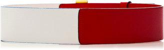 Prabal Gurung Tricolor Leather Belt