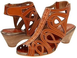 Spring Step L'Artiste by Flourish (Natural Leather) Women's Sandals