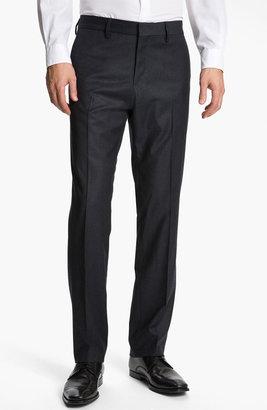 Boss Black 'Crigan' Flat Front Trousers