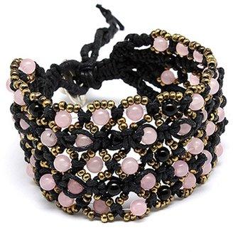 Tryst Style Beaded Toggle Bracelet