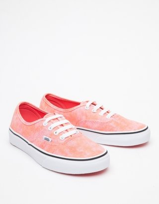 Vans Authentic in Coral