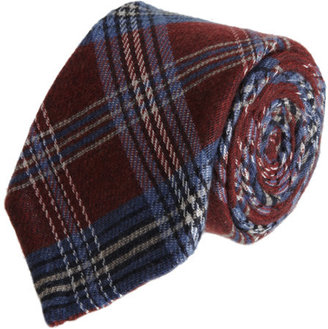 Barneys New York Plaid Tie