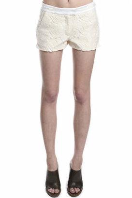 A.L.C. Milo Shorts in Cream