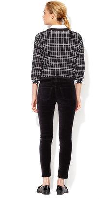 J Brand Velvet Low Rise Super Skinny Pant
