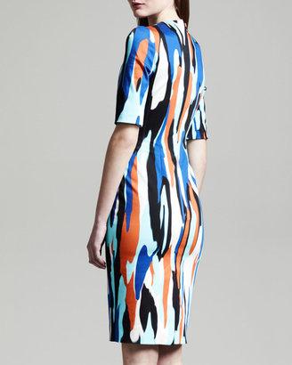 Jonathan Saunders Raquel Printed Shift Dress