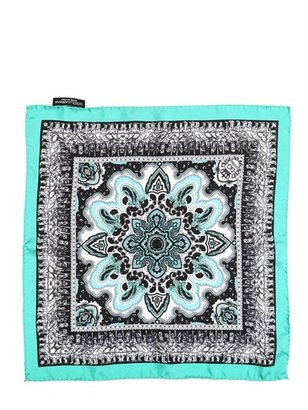 Dolce & Gabbana Silk Twill Pocket Square
