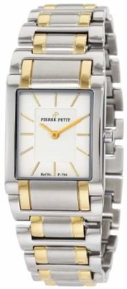 Pierre Petit Women's P-794C Serie Laval Two-Tone Stainless-Steel Square Case Bracelet Watch